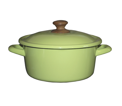 Зелёная кастрюля